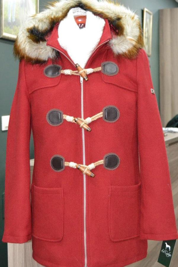 Elgalgo Abrigo Mujer Trenca Trenca Elgalgo Mujer Abrigo Abrigo Rojo Rojo WnPxTUzT
